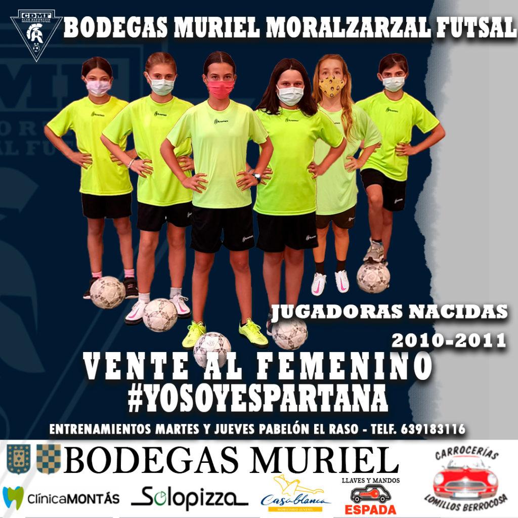 Presentación del Equipo Femenino CD Moralzarzal Futsal